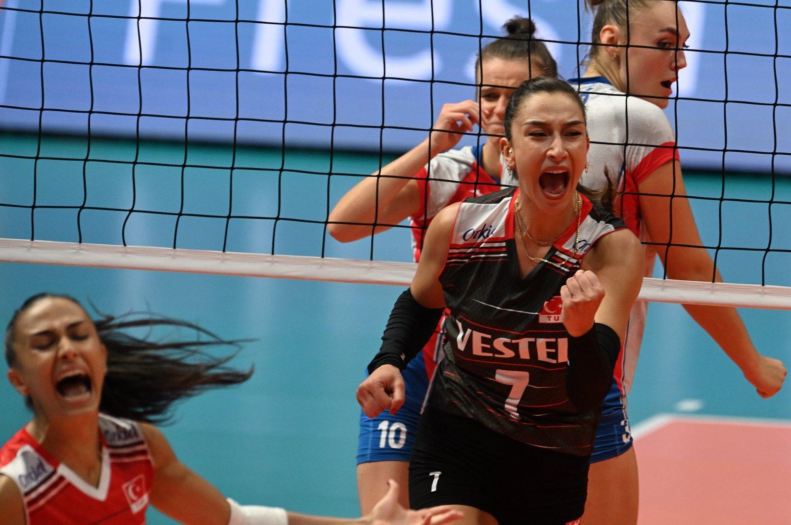 La Turquie de haut vol affronte la Pologne en quart de finale féminin de l'EuroVolley