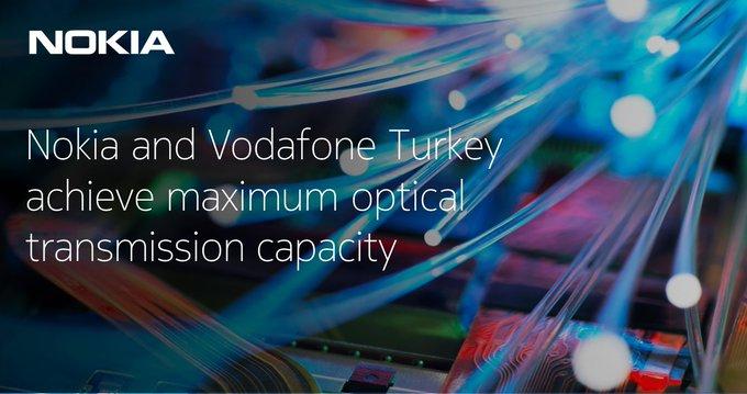 Nokia fait la démonstration d'une transmission cohérente à 1 To/s par canal avec Vodafone Turquie
