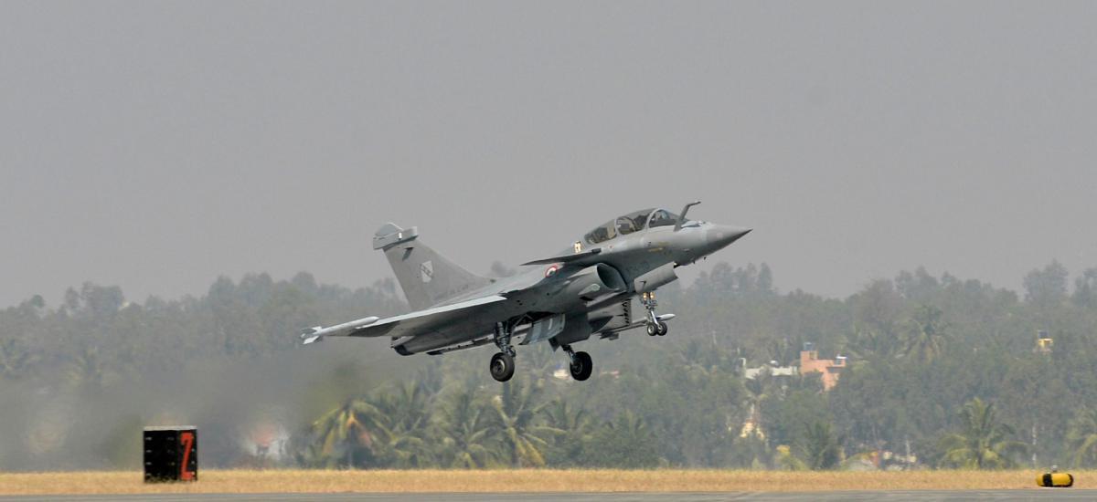 La France annonce la vente de six jets Rafael à la Grèce