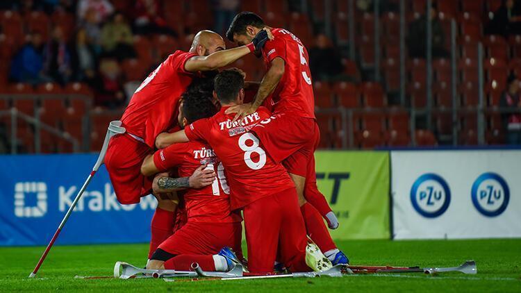 La Turquie remporte la coupe de football des amputés de l'Euro consécutive