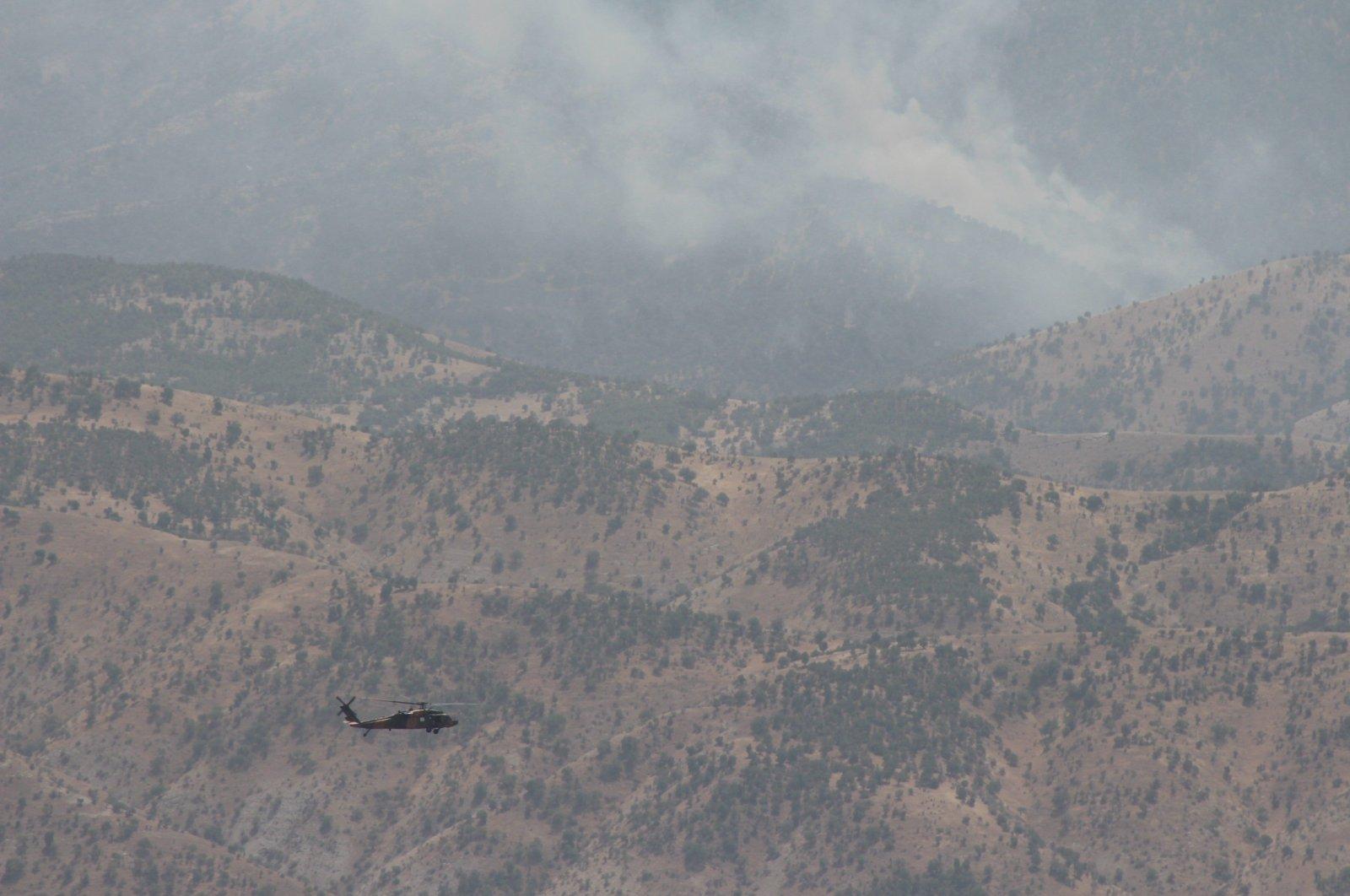La Turquie mène une opération aérienne sur des cibles du PKK dans le nord de l'Irak