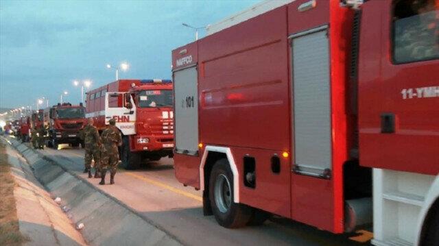 L'Azerbaïdjan envoie 53 camions de pompiers en Turquie pour lutter contre les incendies de forêt