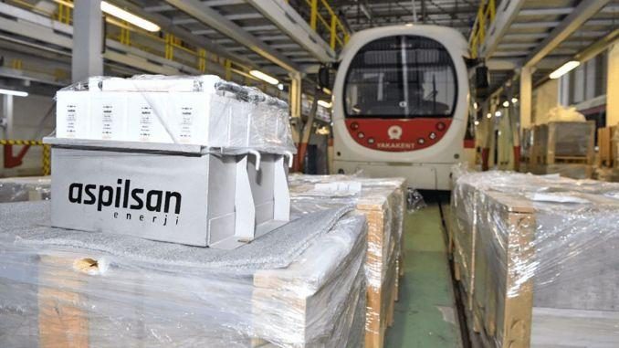 ASPİLSAN produira des batteries pour les systèmes ferroviaires en Turquie