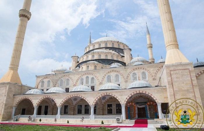 La Turquie fait construire la deuxième plus grande mosquée d'Afrique au Ghana