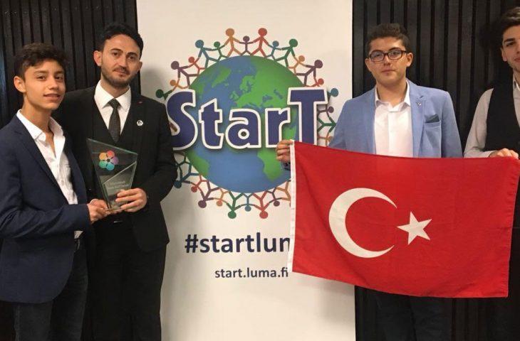 La Turquie a remporté le concours en Finlande avec « BaretCare » !