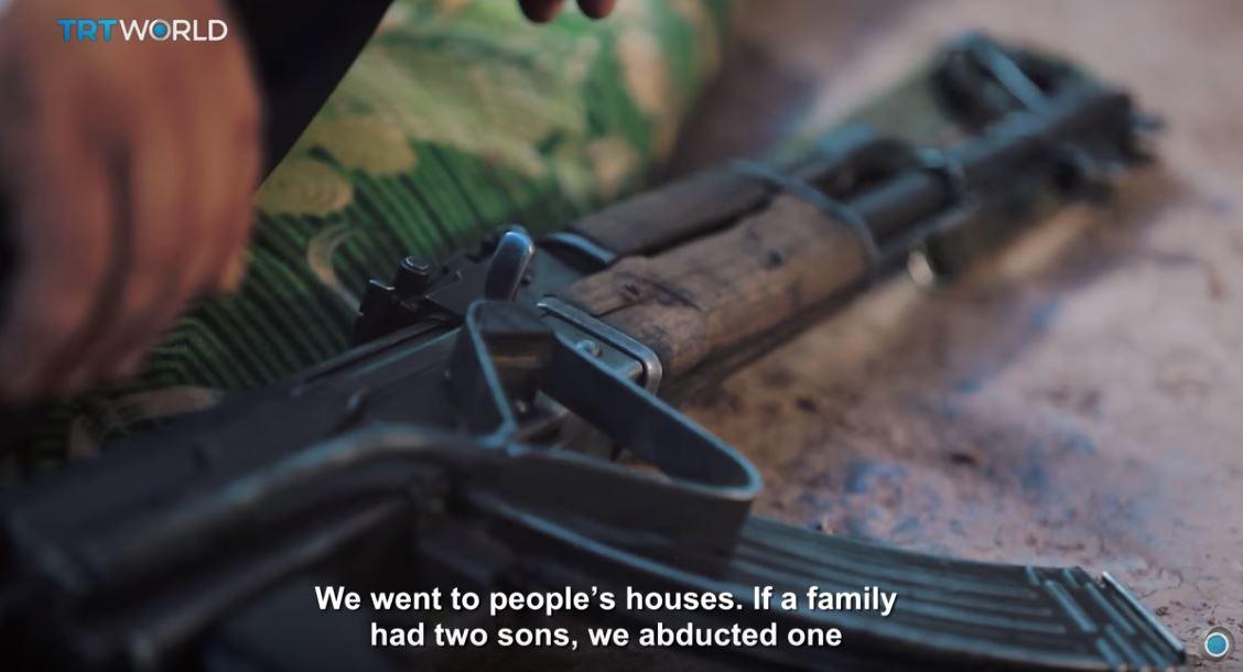 Recrutement d'enfants aux PKK : Enfants oubliés