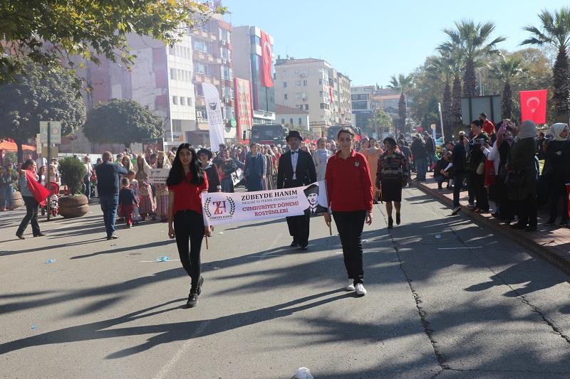 Un défilé exceptionnel pour le 95ième anniversaire de la proclamation de la République Turque