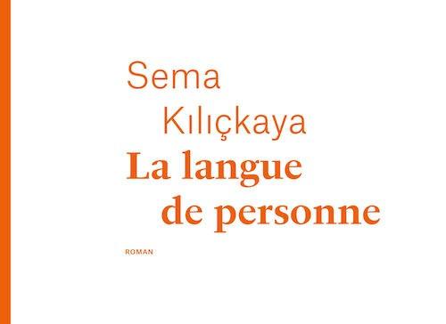 Sema Kiliçkaya reçoit le Prix France-Turquie pour La Langue de personne