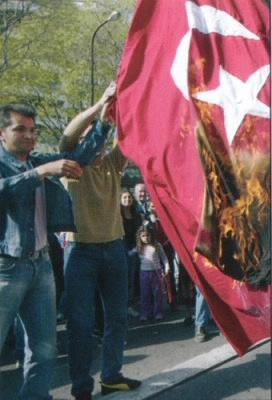 Le 5 Août 1980 les terroristes arméniens ont attaqués au consulat de Turquie de Lyon