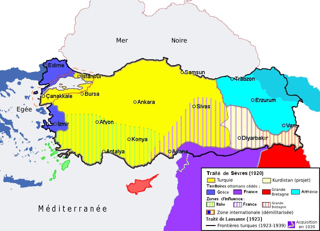La date du 10 août dans l'histoire de la Turquie