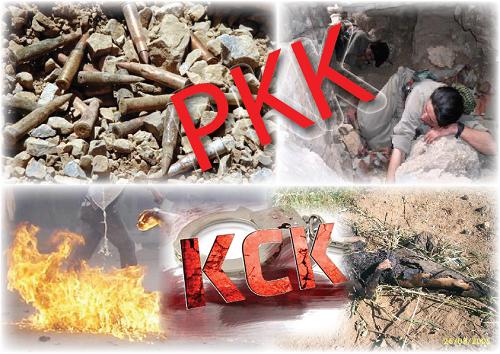 4 terroristes du PKK se rendent à la porte frontière dans le sud-est de la Turquie