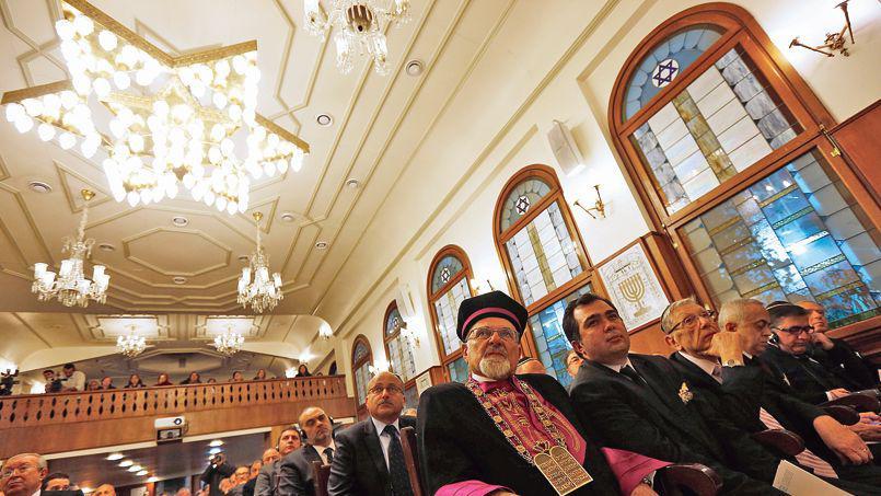 La communauté juive de Turquie célèbre le jour de la victoire dans la synagogue de Büyükada