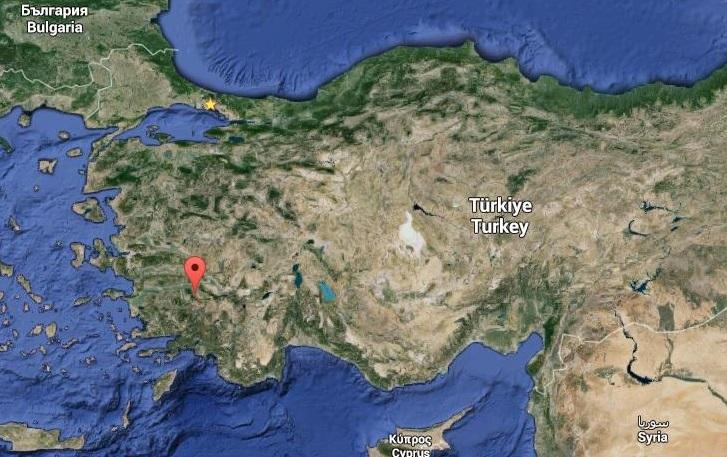 Un tremblement de terre de magnitude 4,4 frappe l'ouest de la Turquie