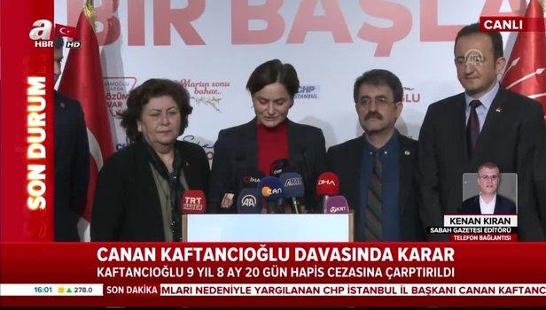 Canan Kaftancioglu condamné à 9 ans de prison