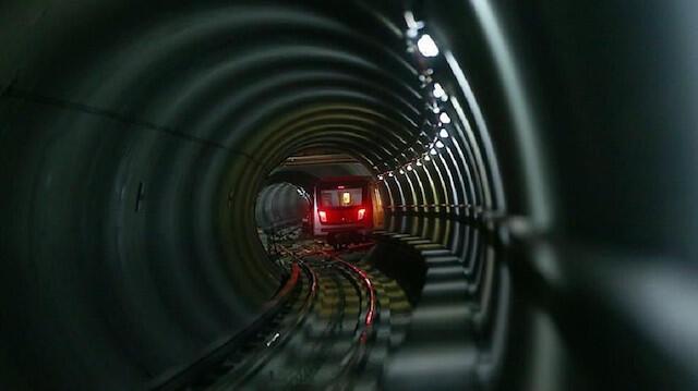 Construction d'une ligne de métro de l'aéroport d'Istanbul