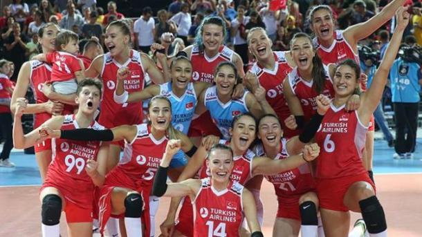 [Volley-ball féminin] la Turquie bat la Pologne et se qualifie pour la finale