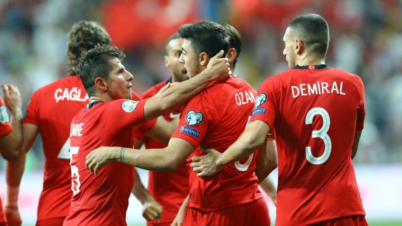 La Turquie s'impose en fin de match contre Andorre (1-0)