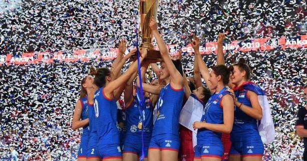 La Serbie garde son titre de Championne d'Europe en Turquie