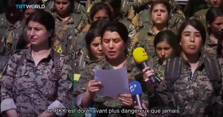 Menaces cachées, le PKK en Europe