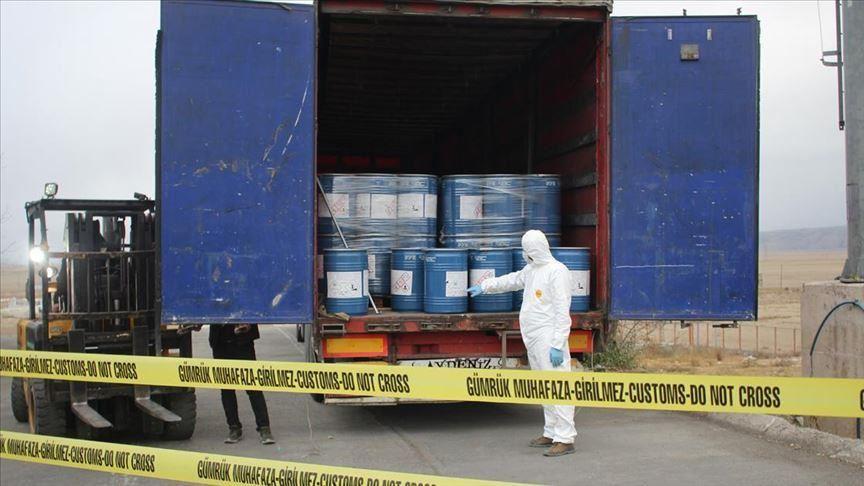 La Turquie déjoue 18 tonnes de composé de cyanure