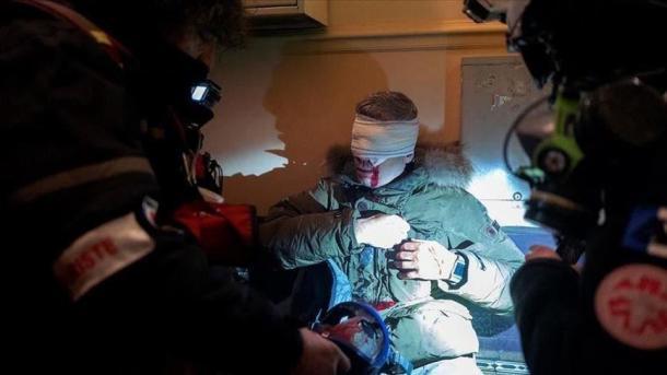 Le Photo-journaliste de l'Agence Anadolu, pas de bonne nouvelle
