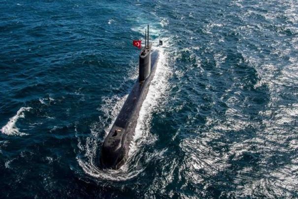 La Turquie lance le premier de six nouveaux sous-marins