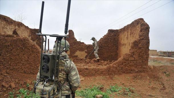 """Syrie : Les travaux de déminage se poursuivent dans la zone d'opération """"Source de Paix"""""""