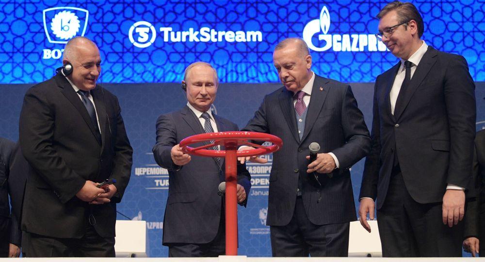 Le Turk Stream fait de la Turquie le centre gazier de la région