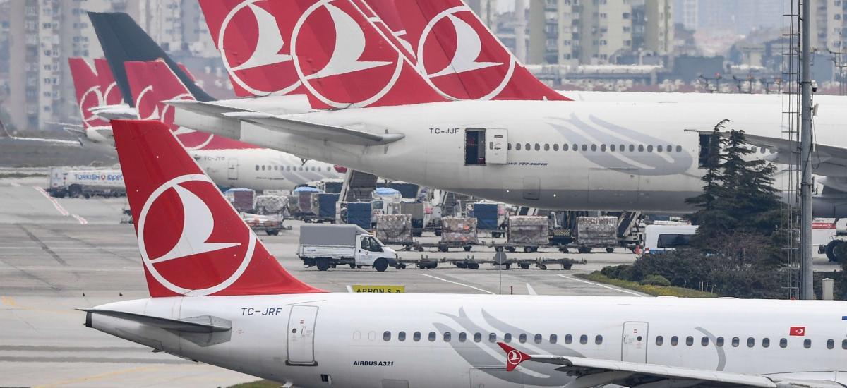 Le nombre de passagers de Turkish Airlines baisse de 1,1% en 2019