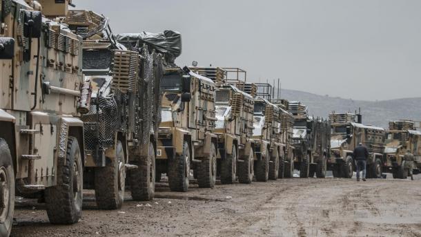 Syrie : Déploiement de renforts militaires turcs à Idleb