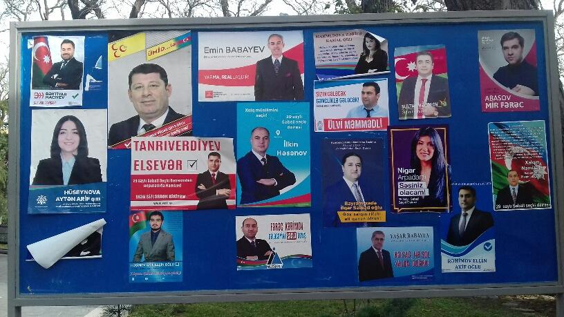 Les élections législatives en Azerbaïdjan