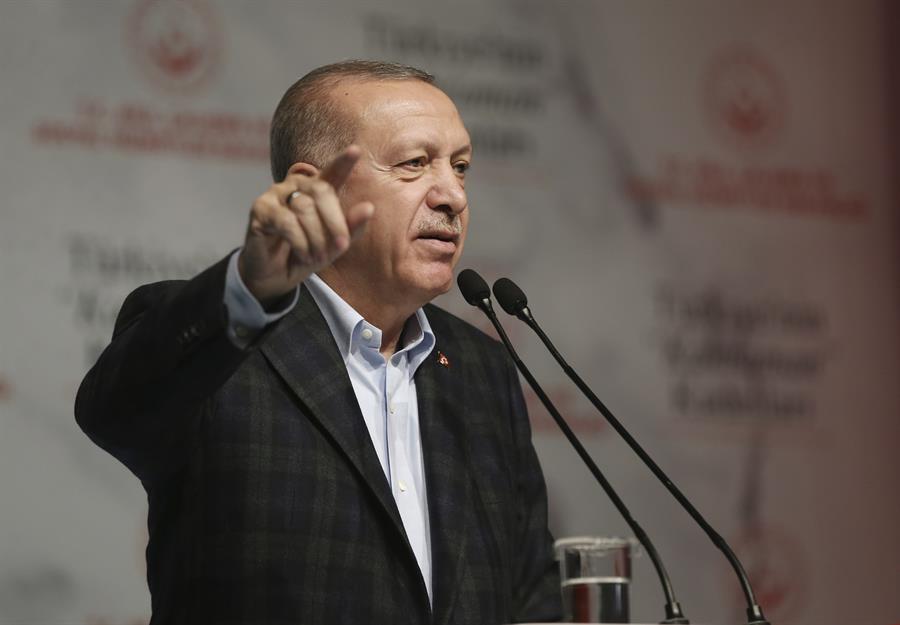 Le président Erdoğan dénonce la discrimination à l'égard des femmes