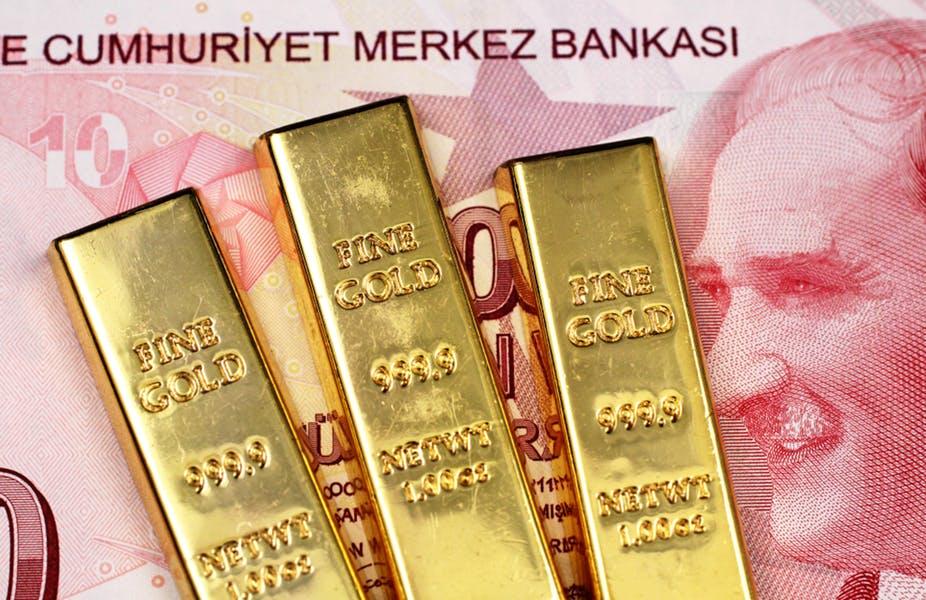 Les réserves de change de la banque centrale de Turquie chutent de 1,1 milliard de dollars