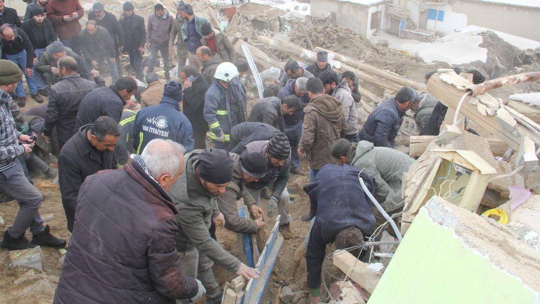 Un tremblement de terre d'une magnitude de 4,7 a frappé l'est de la Turquie.