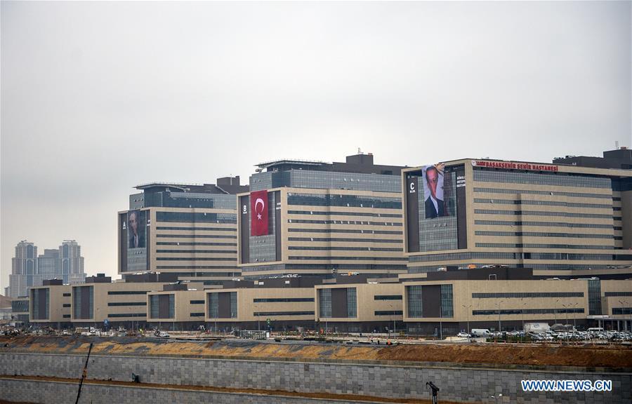 La Turquie inaugure un nouveau méga-hôpital pour les patients COVID-19 à Istanbul