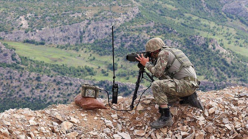 La Turquie neutralise 12 terroristes des YPG/PKK