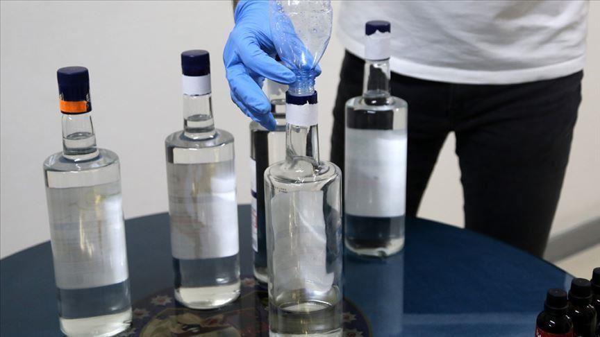 2 543 litres de gel hydroalcoolique saisis en Turquie