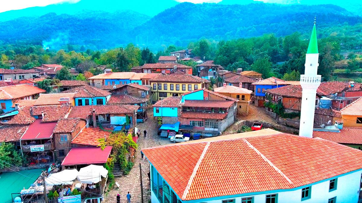 Le village de Cumalıkızık à Bursa