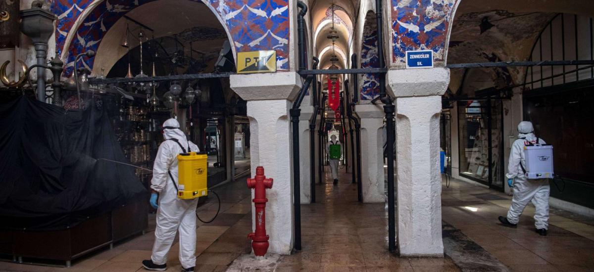 La réouverture du Grand Bazar d'Istanbul