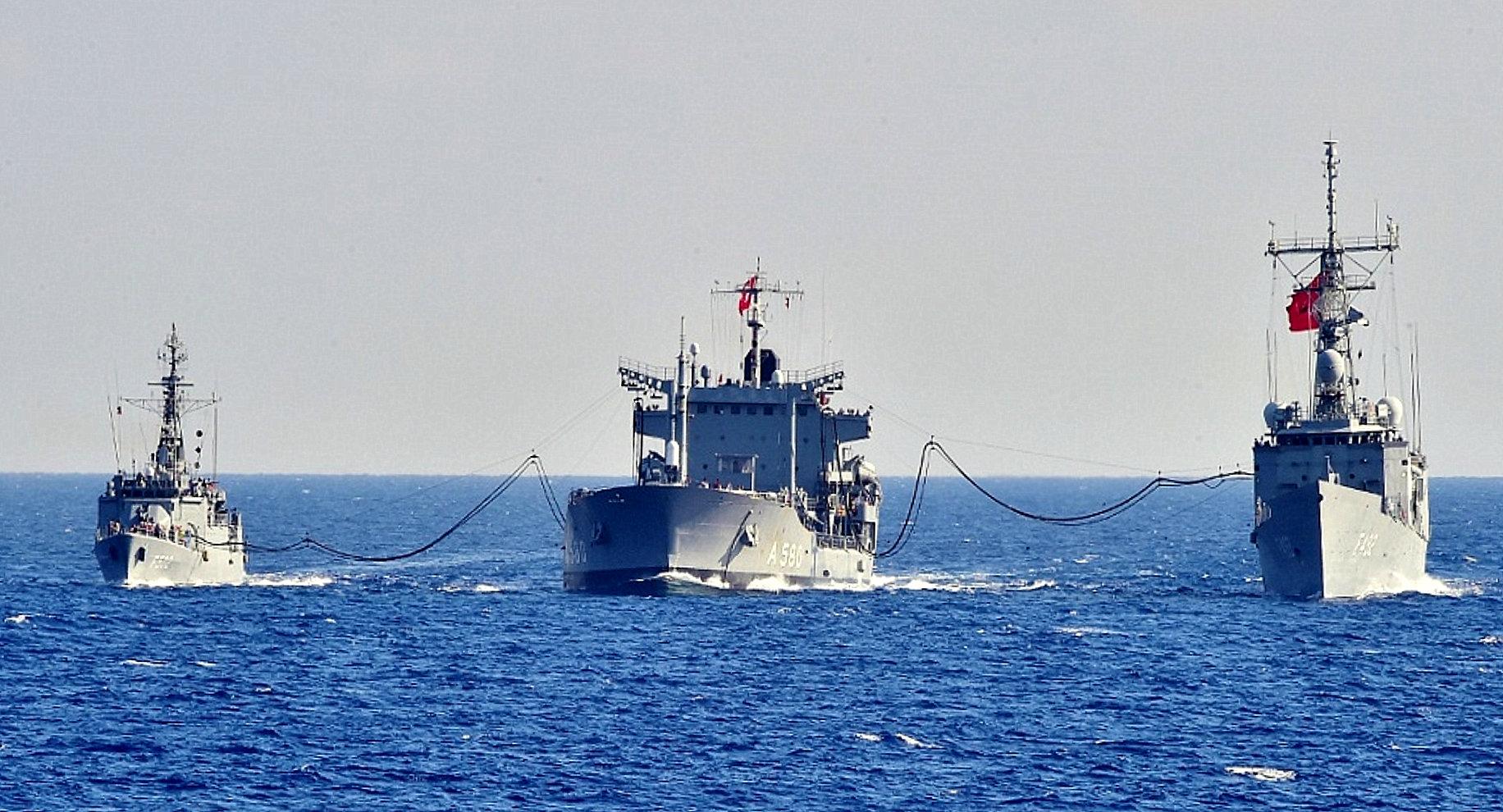 La Turquie et l'Italie organisent une formation maritime en Méditerranée