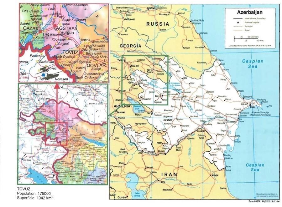 Communiqué de presse de l'Ambassade de la République d'Azerbaïdjan