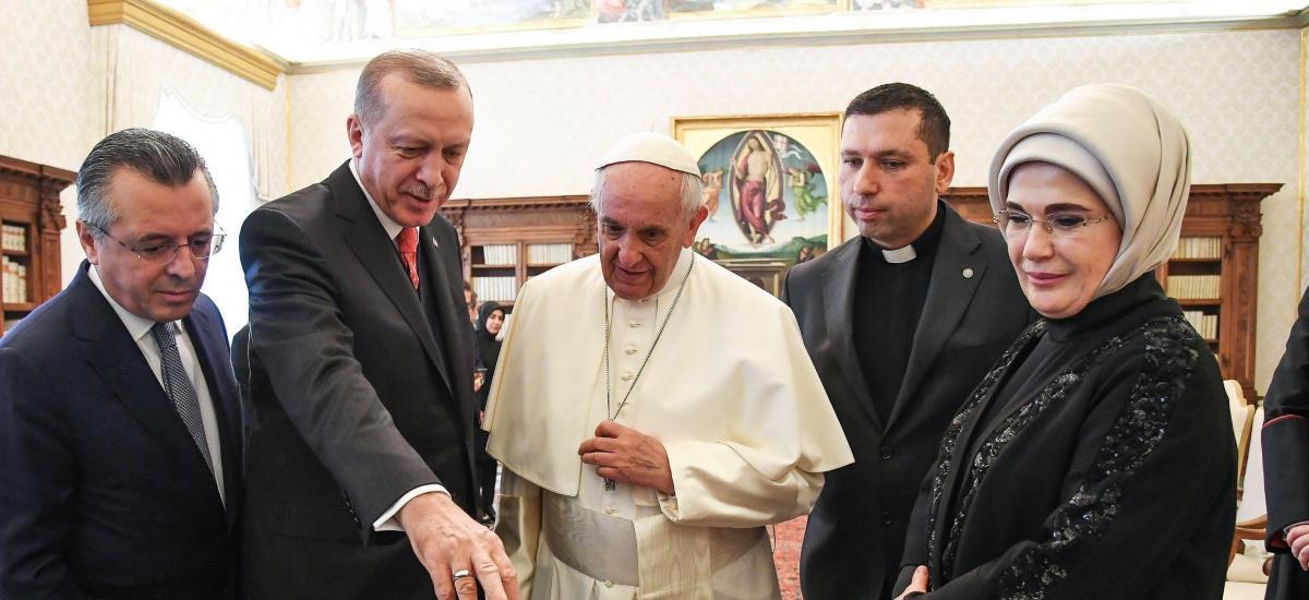 Le pape François sur la liste des invités de la réouverture de Sainte-Sophie