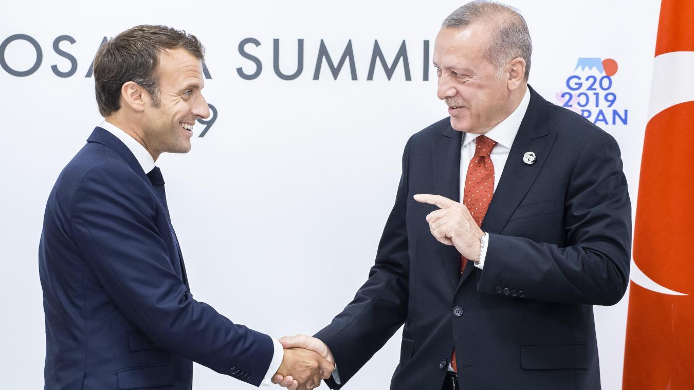 « La France qui dit les choses que les autres n'osent pas dire » : Macron sur la situation en Méditerranée orientale