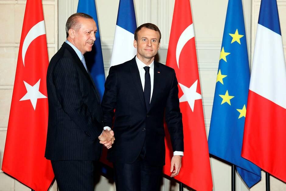 La Turquie dénonce les déclarations « arrogantes » de Macron