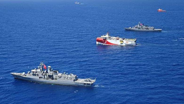 Tensions greco-turques : le navire de recherche turc quitte les eaux disputées en Méditerranée