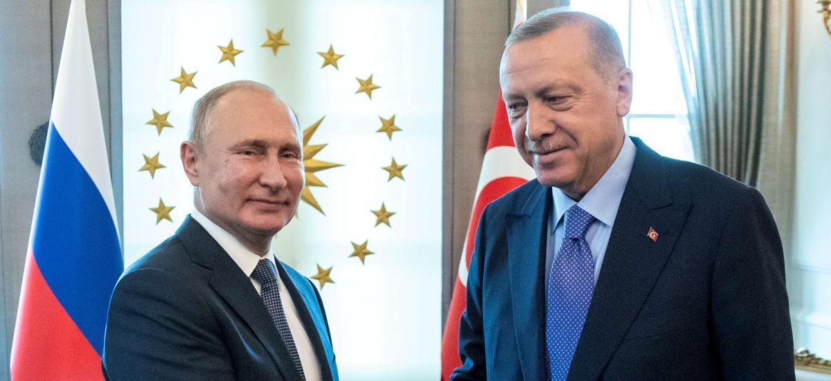 Les relations Erdoğan-Poutine sous tension à cause du conflit du Haut-Karabakh