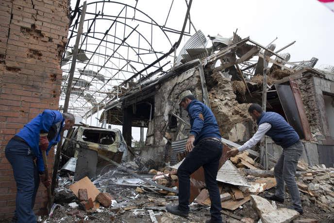 La Turquie condamne l'attaque arménienne contre la ville azerbaïdjanaise de Ganja