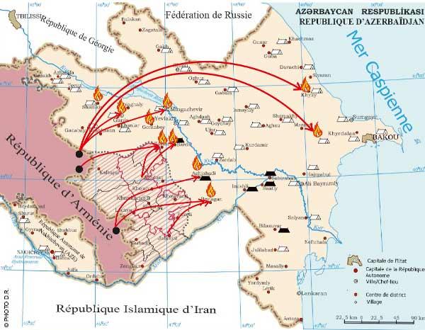 Point sur l'actualité du conflit dans le Haut-Karabakh en Azerbaïdjan