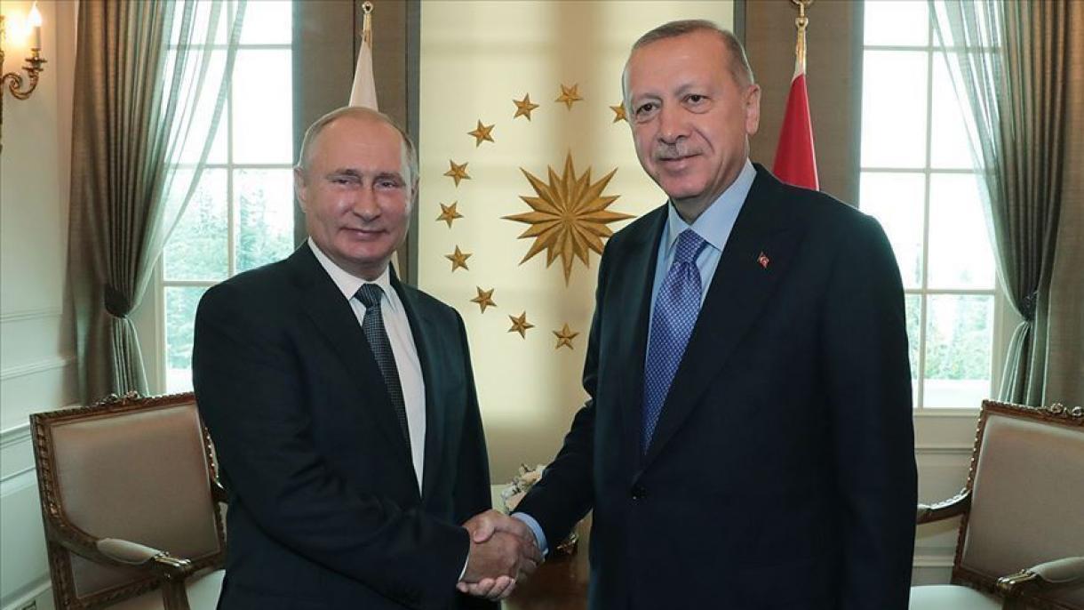 Diplomatie entre la Turquie et la Russie sur le Haut-Karabakh