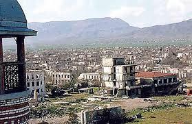 L'armée azerbaïdjanaise entre dans la ville d'Agdam que l'Arménie occupait depuis 27 ans